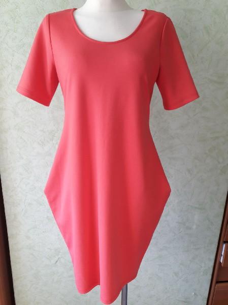 Różowa Sukienka Rozmiar L