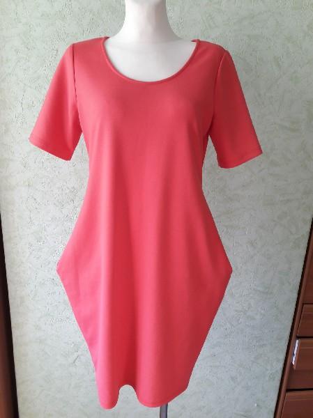 Różowa Sukienka Rozmiar L 2
