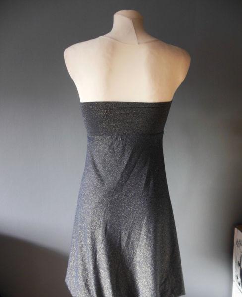 Niebieska Sukienka Rozmiar S/m - Cena 12zł 3