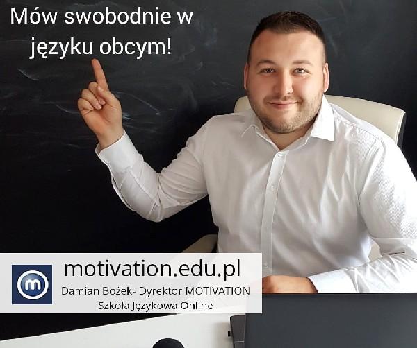 Szkoła Językowa Online Motivation