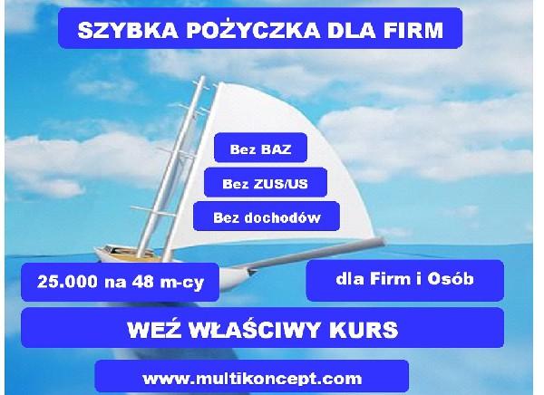 Pożyczka Dla Nowych Firm Na Oświadczenie Dochodu, Pozabankowo, Bez Bik I Krd
