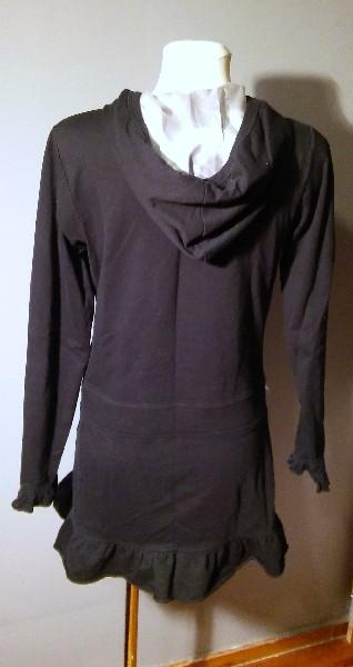 Czarna Sukienka Mini - Rozmiar S/m 2