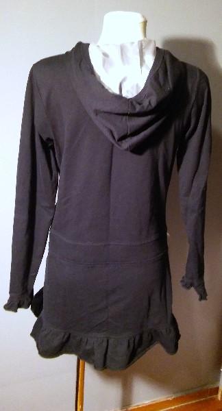 Czarna Sukienka Mini - Rozmiar S/m 4