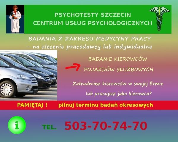 Psychotesty Szczecin. Centrum Usług Psychologicznych Wojska Polskiego 11