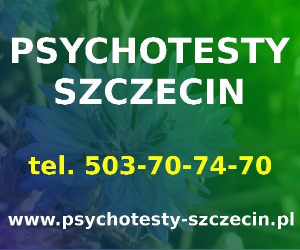 Psychotesty Szczecin. Centrum Usług Psychologicznych Wojska Polskiego 11 4